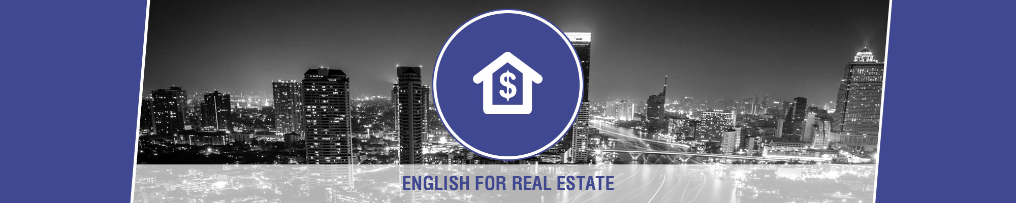 Anglokom Corporate Language Training Bangkok - English for Real-Estate Banner